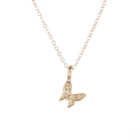 Beautiful Wings Butterfly Charm Necklace
