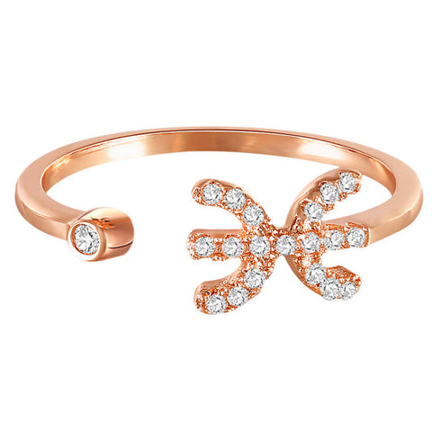 cancer zodiac rings