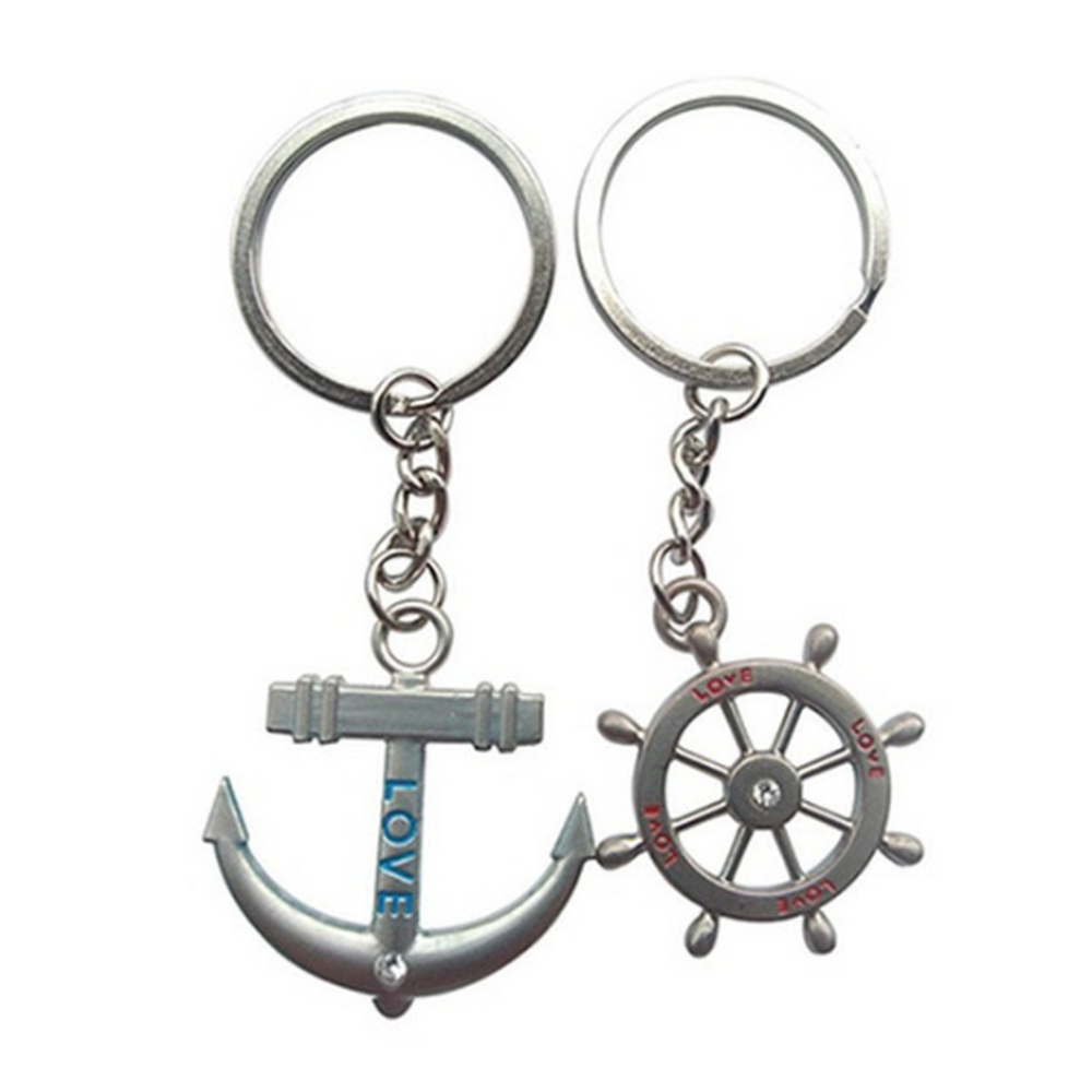 Inspired Couple's Nautical Keychains (Shipped From USA)