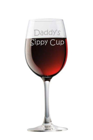 Daddys Sippy Cup Choice of Pilsner Beer Mug Pub Wine Glass Coffee Mug Rocks Water Glass