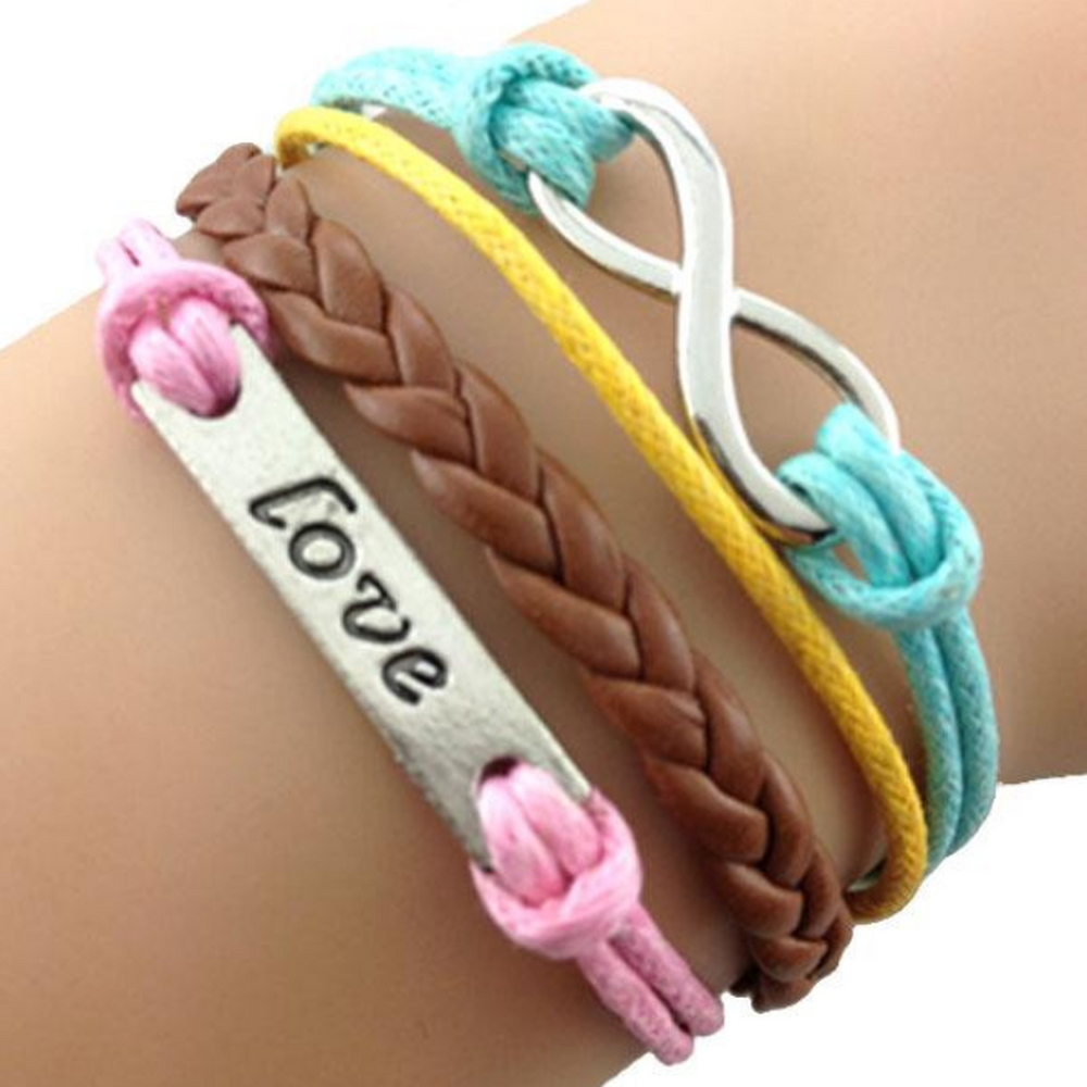 Love Always Colorful Bracelet (Shipped From USA)