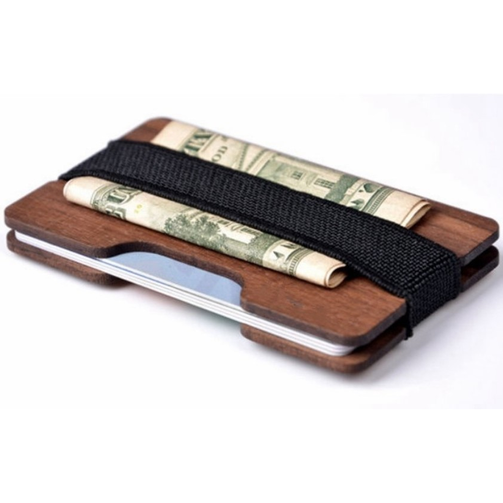 Wooden Money Wallet