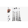 5 Piece Harry Potter Inspired Magic Wands Makeup Brush Set (Shipped from USA)