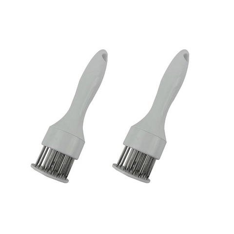 Stainless Steel Professional Meat Tenderizer (2-Pack) (Ships From USA)