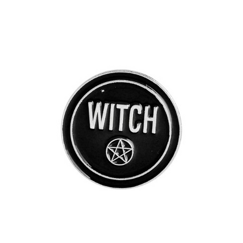 Witch Pin Badges