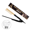 Gold Hair Straightener Comb