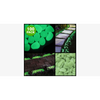100-Pack: Glow in the Dark Garden Pebbles (Shipped From USA)