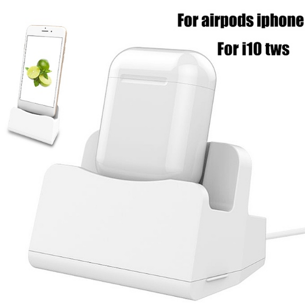 Charging dock for airpods