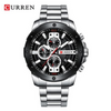 Curren Men's Luxury Stainless Steel Watch