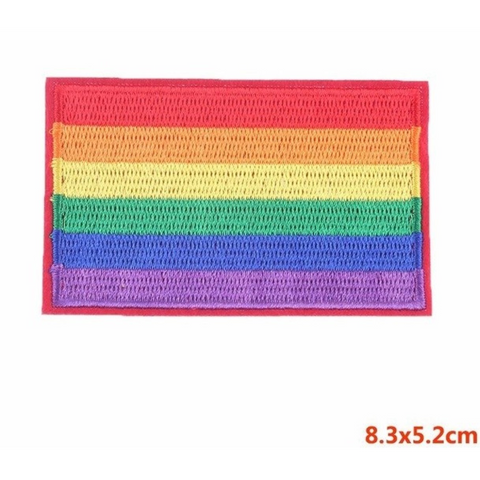 Rainbow Pride Patches