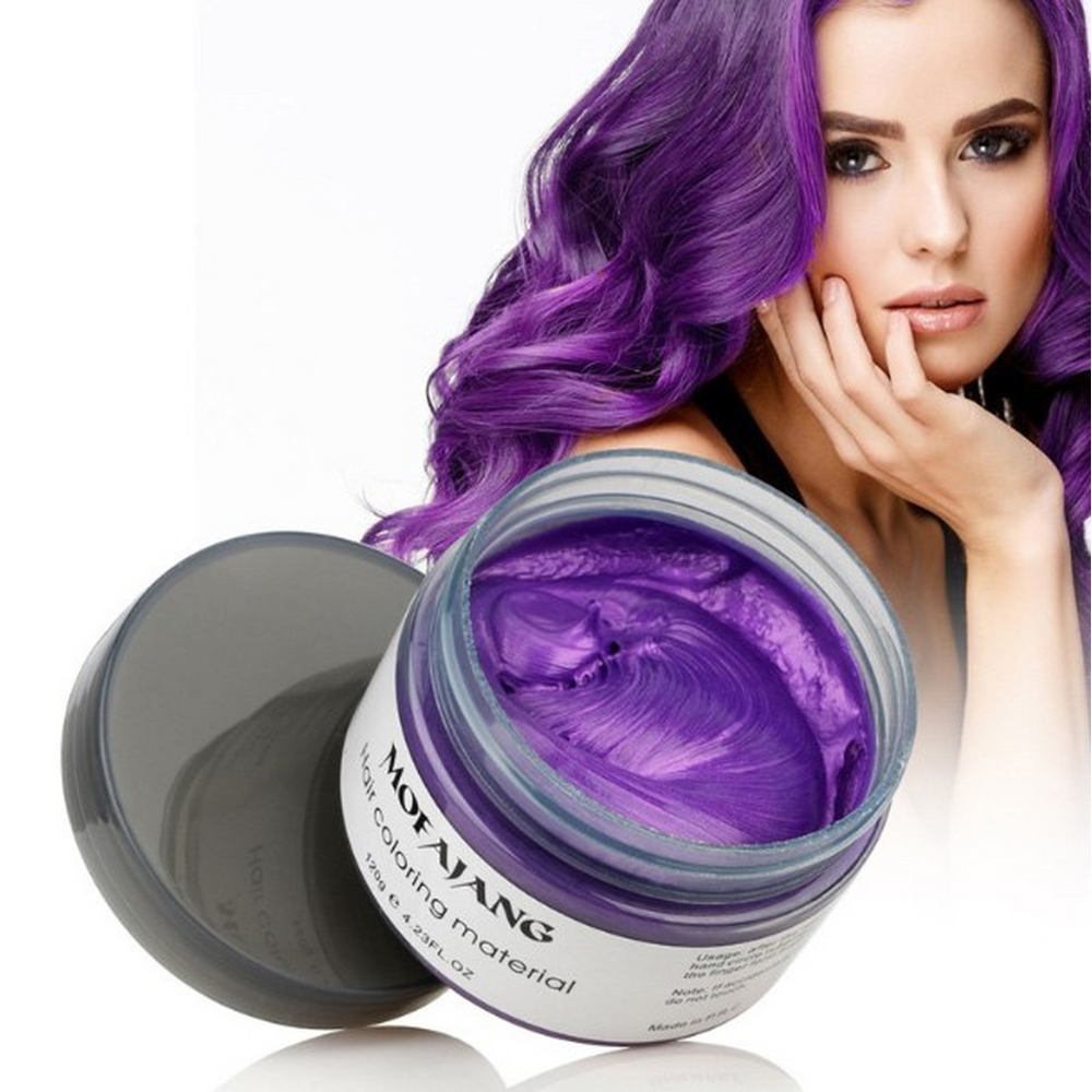 Hair Wax Color Styling mud cream