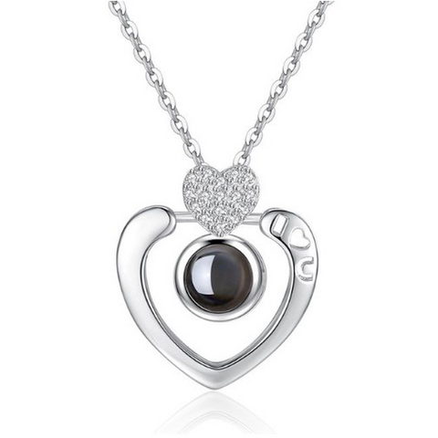 Projection Heart Necklace