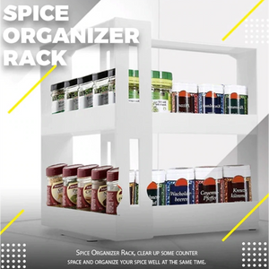 Kitchen Spice Organizer Rack