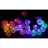 Solar-Powered Waterproof Crystal Ball String Lights (Ships From USA)