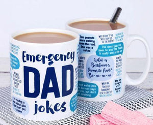 Emergency Dad Jokes Mug - 11 oz. or 15 oz. Mug