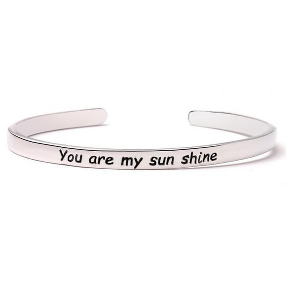 You Are My Sunshine Bangle (Shipped From USA)