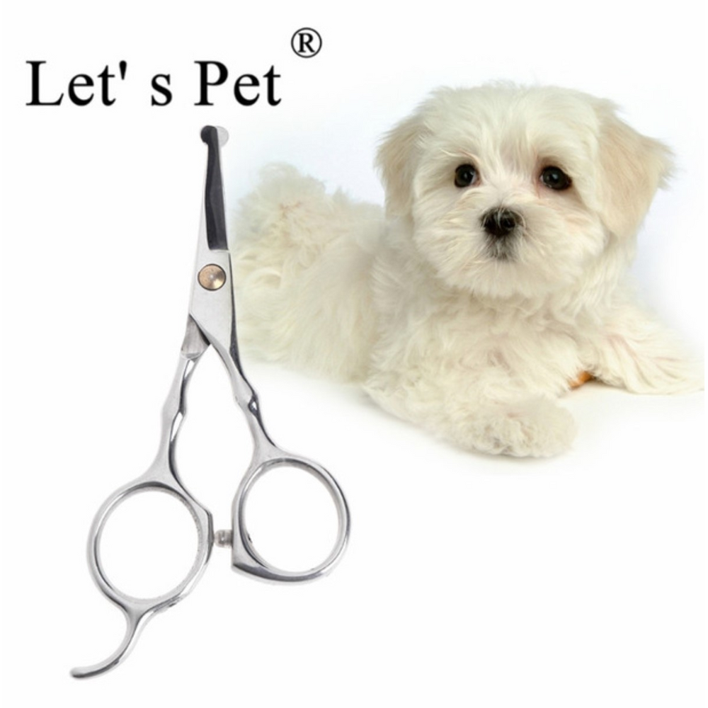 Grooming Scissor for Pet with Safety Rounded Tips