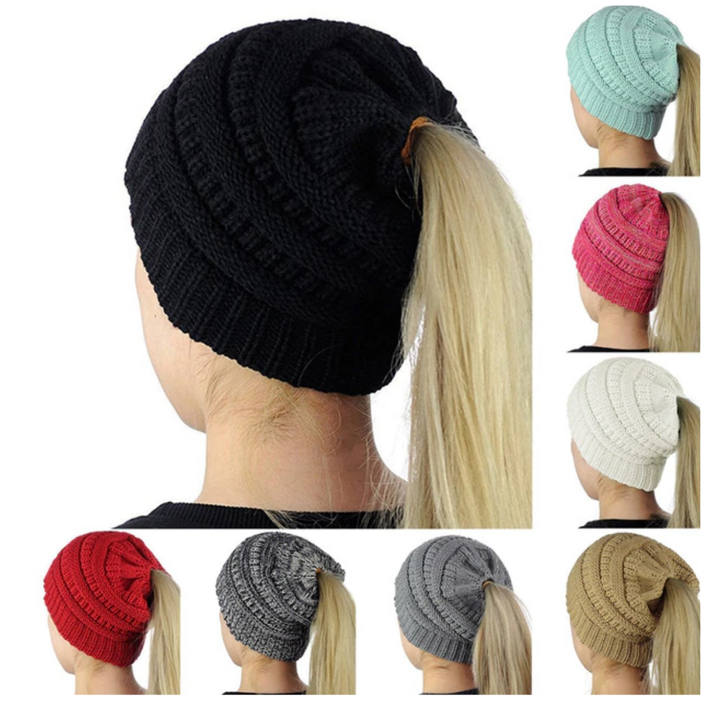Original Pony Tail Beanie