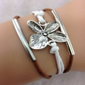 Simply Flower Brown Bracelet (Ships From USA)