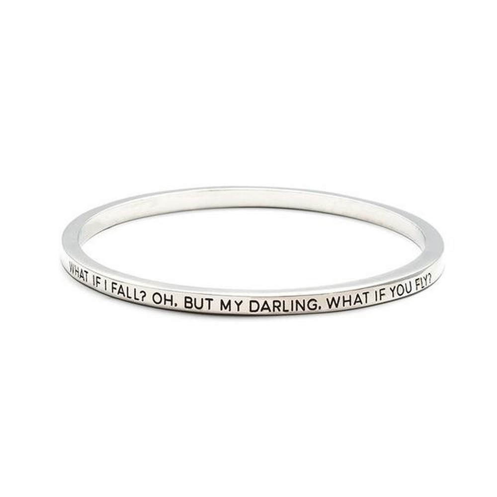 What If I Fall Bangle (Shipped From USA)