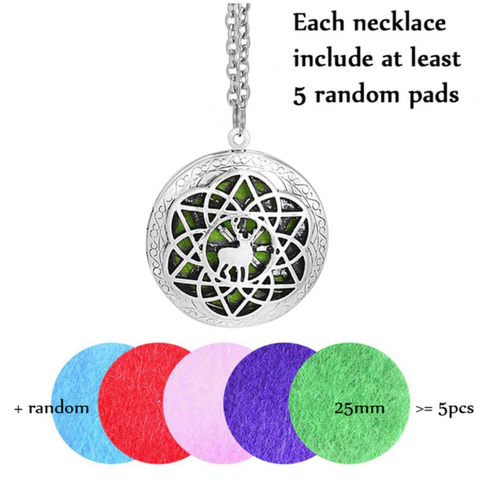 Perfume Defusing Necklace