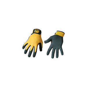 CAT® MERCHANDISE CAT017416J CAT MERCHANDISE NITRILE COATED GLOVE WITH YELLOW ...