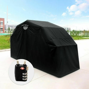 Quictent® Heavy Duty Small Motorcycle Shelter Shed Garage Cover Storage Tent