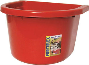 20qt Over Fence Feeder Red,No OF20R,  Fortex/Fortiflex