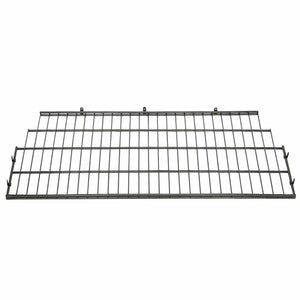 Suncast BMSA7S Vertical Storage Shed Organization Metal Wire Shelf Rack Shelving