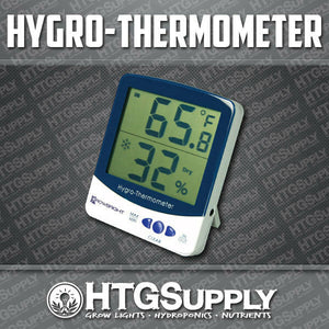 THERMOMETER HUMIDITY Meter Hygrometer REMOTE SENSOR Hydroponics Temperature TEMP