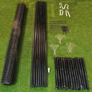 8' x 165' Deer Fence Kit Maximum Strength Tenax C Flex Pro