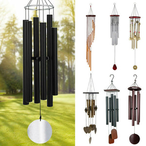 Large Deep Tone Windchime Chapel Bells Wind Chimes Outdoor Garden Home Decor