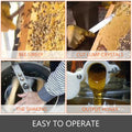 Pro Electric 2/4 Frame Stainless Steel Honey Extractor Beekeeping Equipment Drum