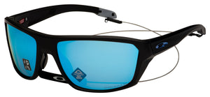 Oakley Split Shot Sunglasses OO9416-0664 Mtte Black | Prizm Deep Water Polarized