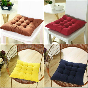 Indoor Home Dining Kitchen Office Chair Tie Soft Seat Pads Cushion Home Decor