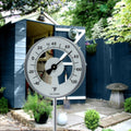 101-147 La Crosse Large Dial Lollipop Outdoor Garden Thermometer - Gray