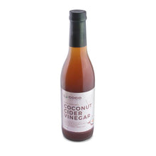 Load image into Gallery viewer, Organic Coconut Cider Vinegar 375ml - Made from Coconut Sap (NOT coconut water)