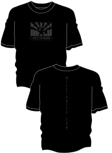 Black M228 Shortsleeve T-shirt