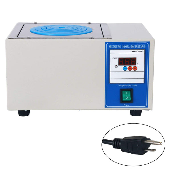 HH-1 300W Digital Lab Single Hole Electric Heating Thermostatic Water Bath Boiler 150 x140 x 95mm (110V)