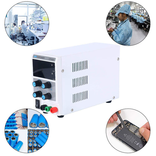 30V 5A Variable Adjustable Digital Regulated DC Power Supply for Lab