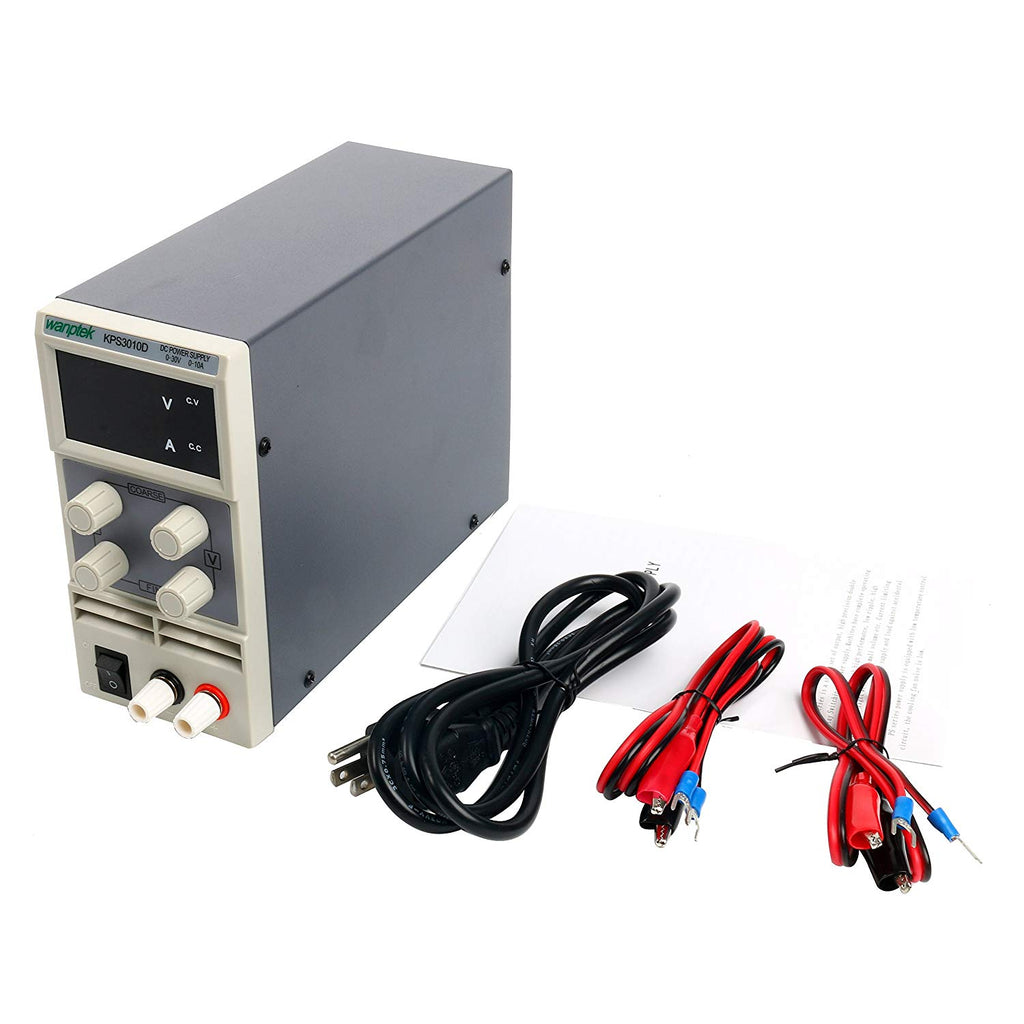 Dc Power Supply Variable0 30 V 0 10 A Yaeccc Kps3010d Adjustable Supplies Switching