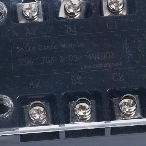 Three Phase Solid State Relay SSR 100A 3-32VDC Input / 480VAC Output