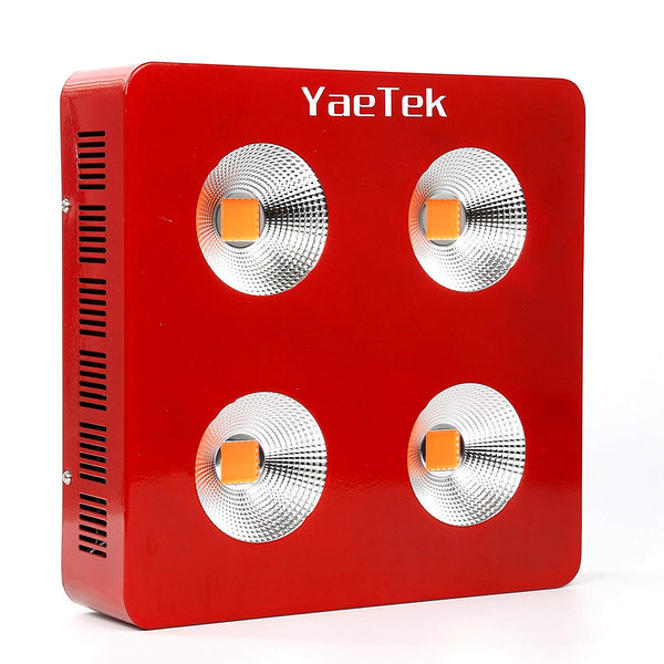 YaeTek 800W/1200W/1800W Full Spectrum COB LED Grow Light System Panel Lamp Indoor Flower Veg Plant Yard Garden