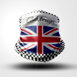 "ClubForeign Face Clothing Neck Gaiter Mask ""Britain"""