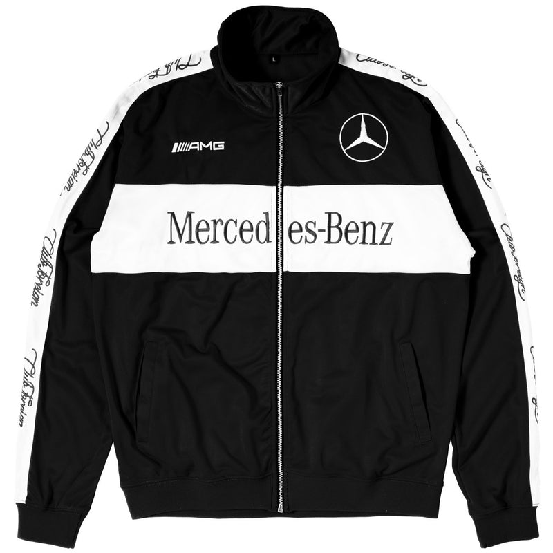 "ClubForeign Tracksuit For Men Jacket and Pants ""Merc"" Black"