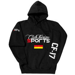 ClubForeign Sport Hoodie Jackets Germany Black - Trends Society