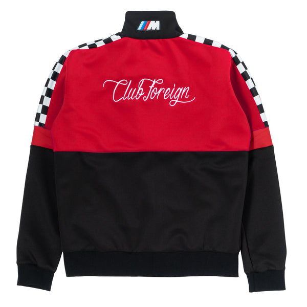 ClubForeign Racing Bavarian Tracksuit Red n Black