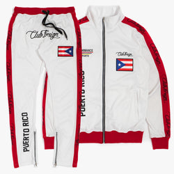 ClubForeign Tracksuit Puerto Rico Jacket and Jogger Pants PRW - Trends Society