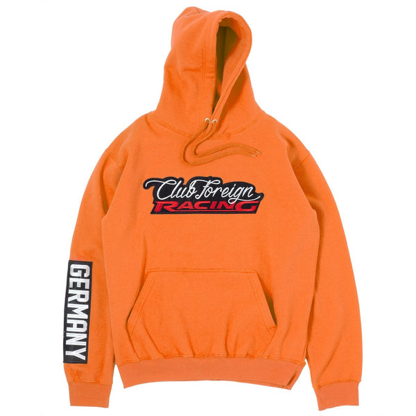 ClubForeign Racing Hoodie Orange