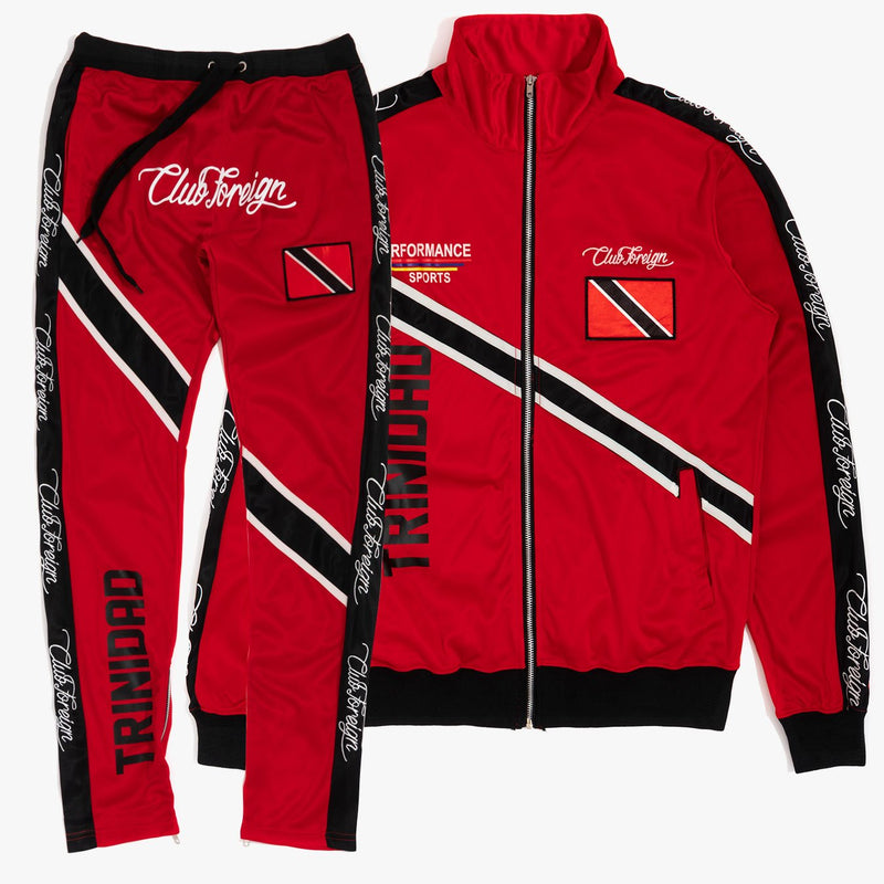 ClubForeign Tracksuit Trinidad Jacket and Jogger Pants TRB - Trends Society